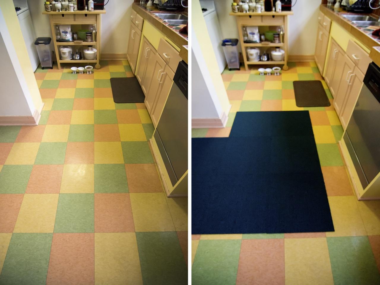 FLOR carpet Kitchen